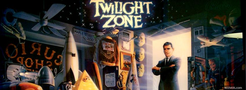 Photo tv shows the twilight zone Facebook Cover for Free