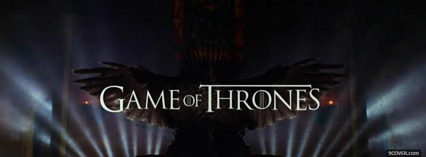 Photo tv shows game of thrones Facebook Cover for Free