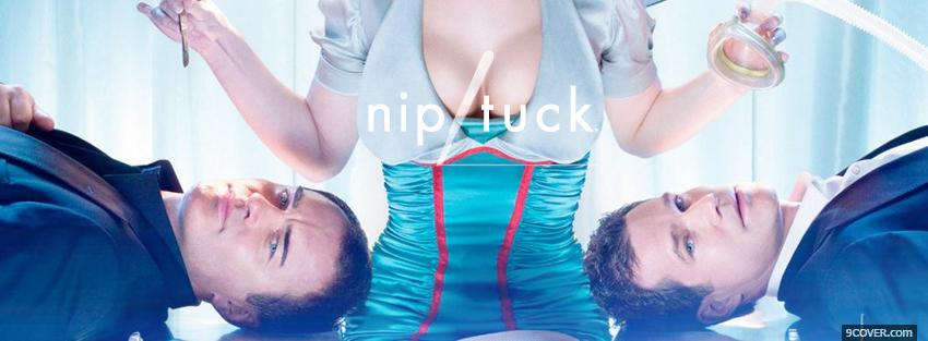 Photo nip tuck men laying on table Facebook Cover for Free