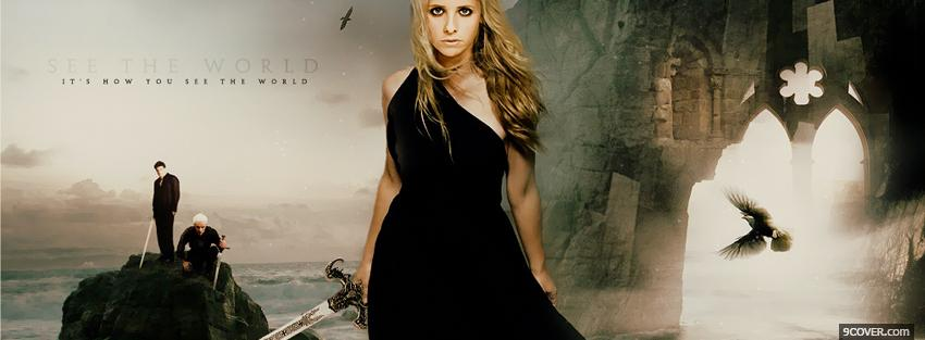 Photo tv shows buffy see the world Facebook Cover for Free