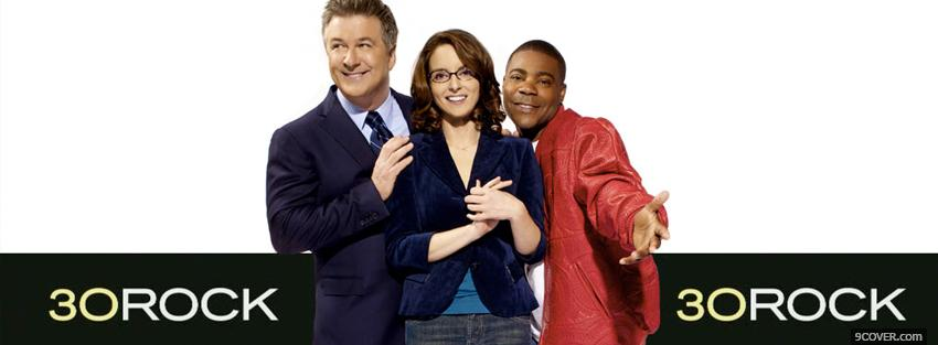 Photo tv shows 30 rock Facebook Cover for Free