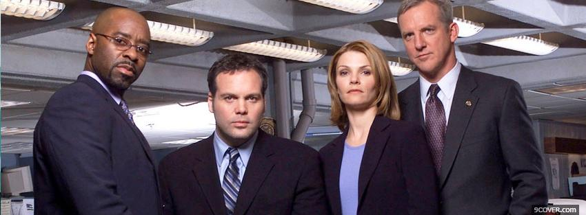 Photo tv shows law and order crew Facebook Cover for Free