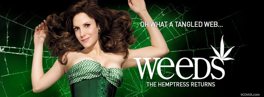 Photo weeds the hemptress returns Facebook Cover for Free