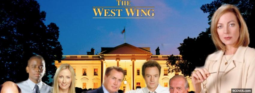 Photo the west wing Facebook Cover for Free