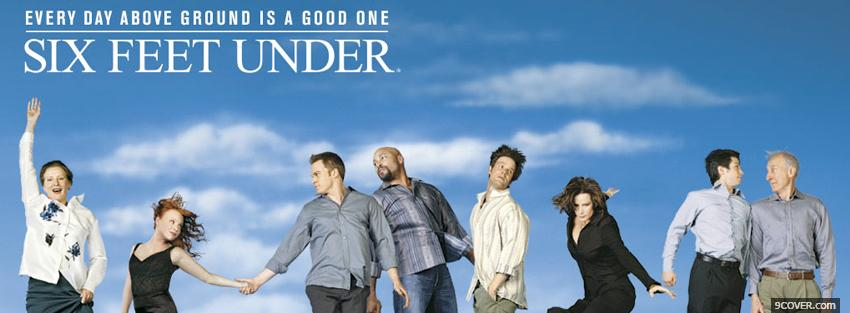 Photo tv shows six feet under Facebook Cover for Free