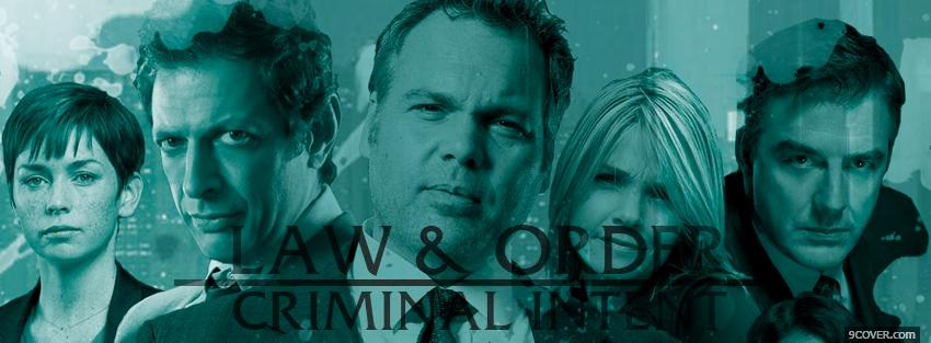 Photo law and order criminal intent Facebook Cover for Free