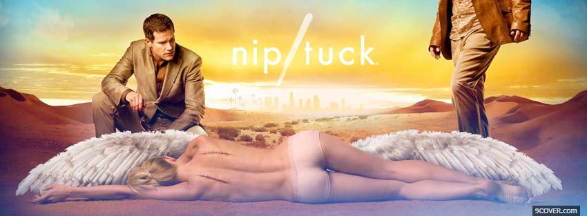Photo tv shows nip tuck Facebook Cover for Free