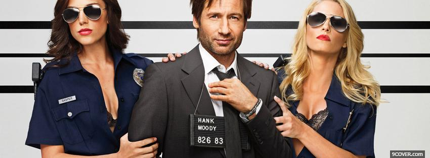 Photo tv shows californication with cops Facebook Cover for Free
