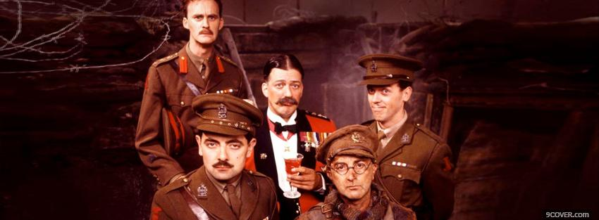 Photo blackadder goes forth tv series Facebook Cover for Free