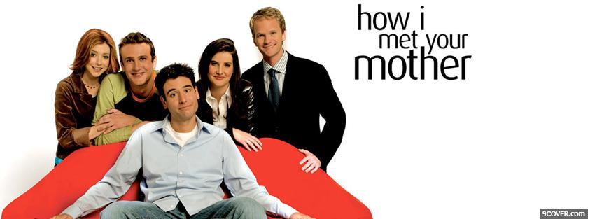 Photo tv shows how i met your mother Facebook Cover for Free