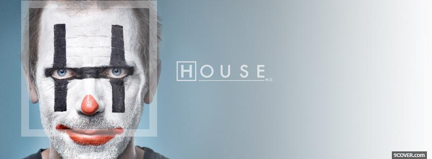 Photo tv shows clown doctor house Facebook Cover for Free