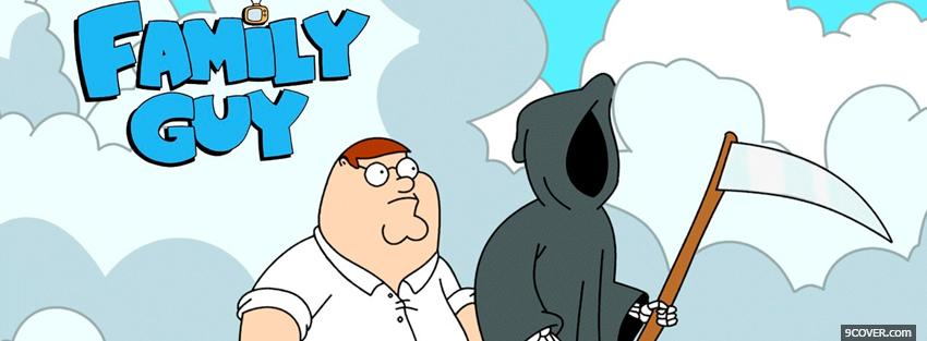 tv shows family guy and grim reaper Photo Facebook Cover