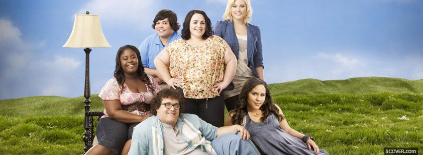Photo tv shows huge abc family cast Facebook Cover for Free