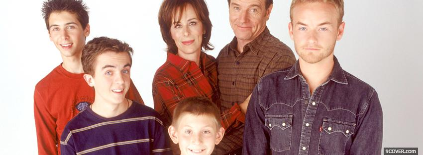 Photo tv shows malcolm in the middle family Facebook Cover for Free