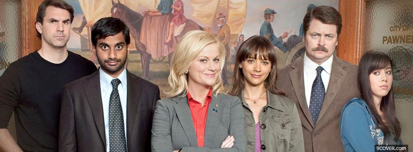 Photo tv shows parks and recreation Facebook Cover for Free