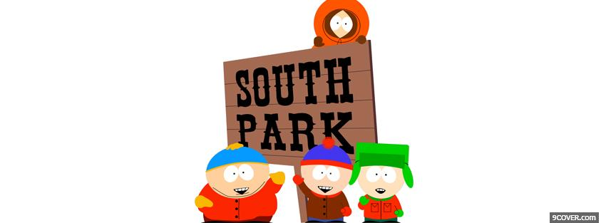 Photo tv shows south park Facebook Cover for Free