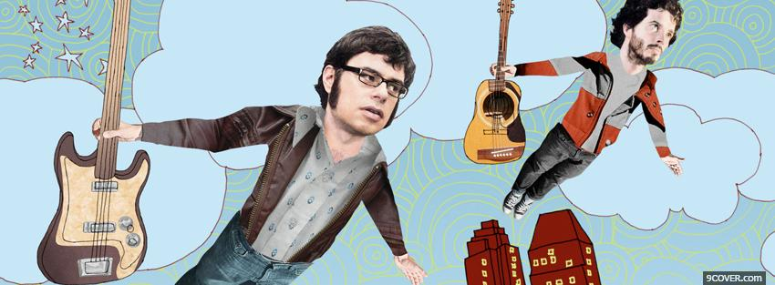 Photo tv series flight of the conchords Facebook Cover for Free