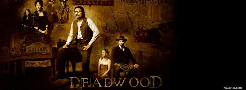 Photo tv shows dead wood western Facebook Cover for Free