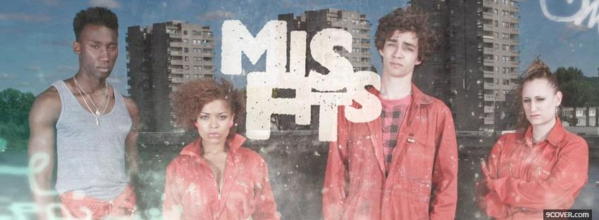 Photo tv shows mis fits serious Facebook Cover for Free