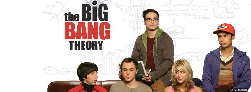 Photo the big bang theory Facebook Cover for Free