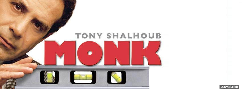 Photo tony shalhoub in monk Facebook Cover for Free