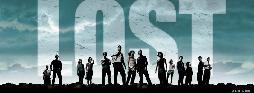 Photo tv show lost cast Facebook Cover for Free