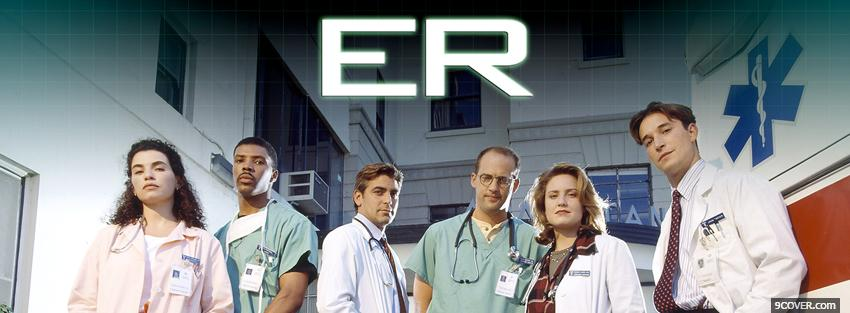 Photo tv shows er doctors Facebook Cover for Free