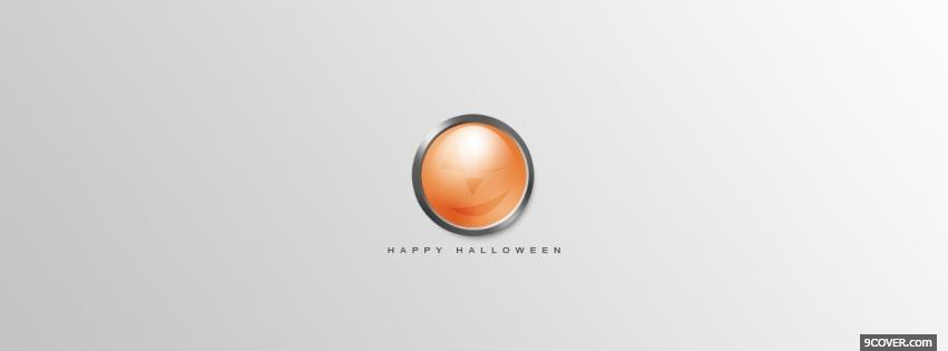 Photo clean happy halloween Facebook Cover for Free
