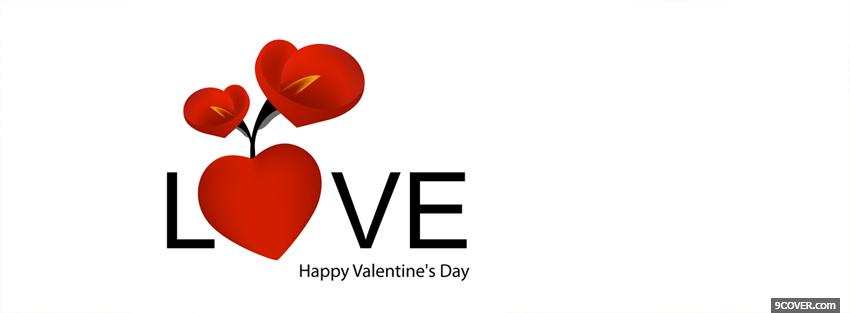 Photo love and valentines day Facebook Cover for Free