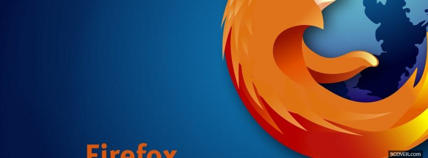 Photo firefox close up Facebook Cover for Free