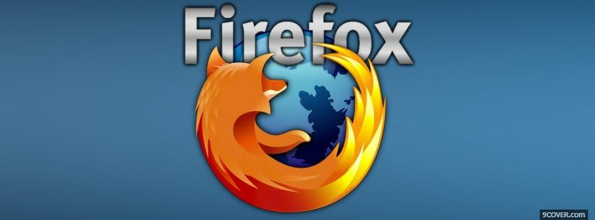 Photo mozilla firefox Facebook Cover for Free
