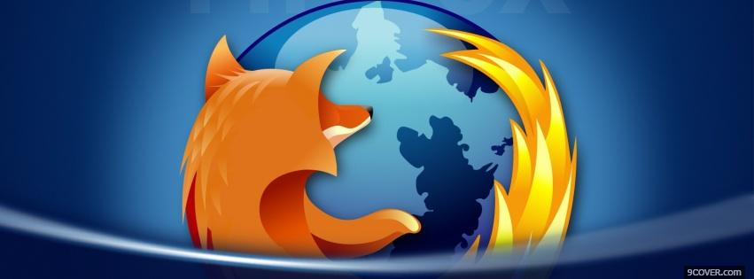 Photo firefox 4 computers Facebook Cover for Free