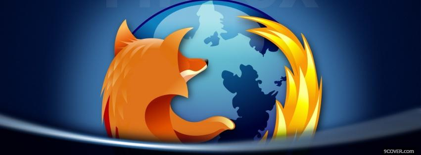 Photo mozilla firefox technology Facebook Cover for Free