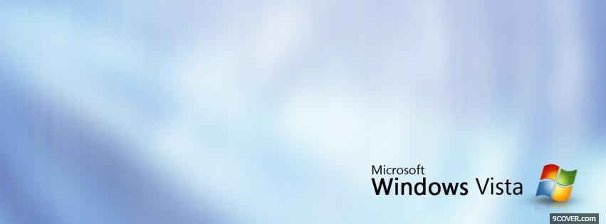 Photo cloudy microsoft windows Facebook Cover for Free