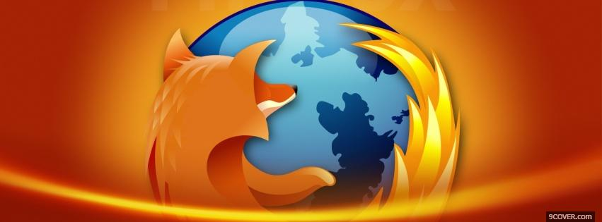 Photo firefox mozilla computers Facebook Cover for Free