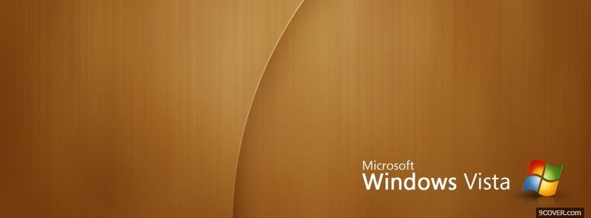 Photo brown microsoft computers Facebook Cover for Free