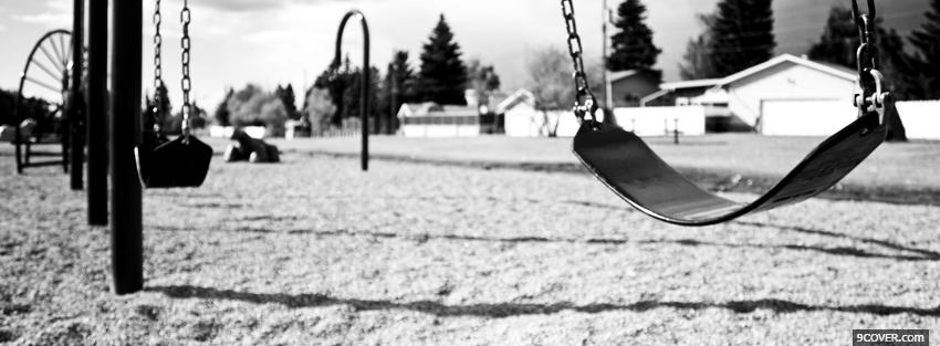 Photo childrens playground Facebook Cover for Free