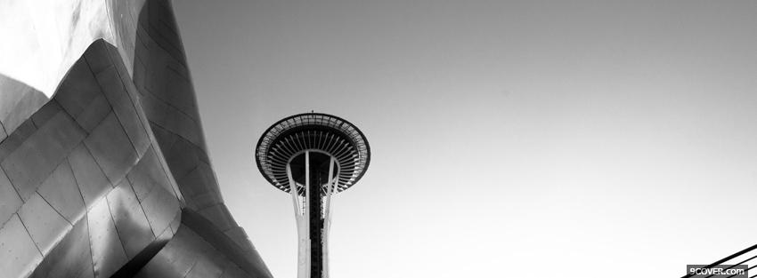 Photo seattle space needle Facebook Cover for Free