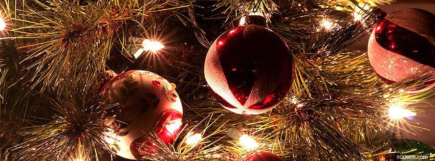 Christmas Facebook Cover Photo.Christmas Lights Photo Facebook Cover