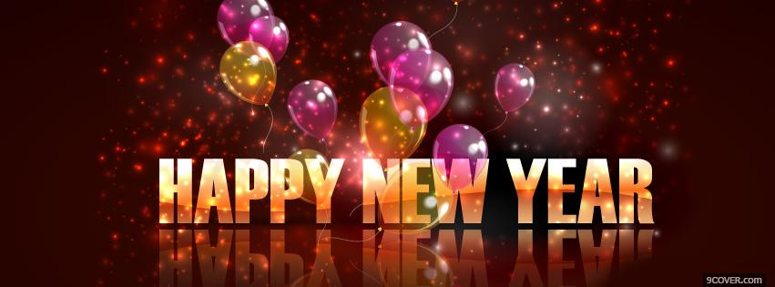 sweet happy new year 2016 Photo Facebook Cover