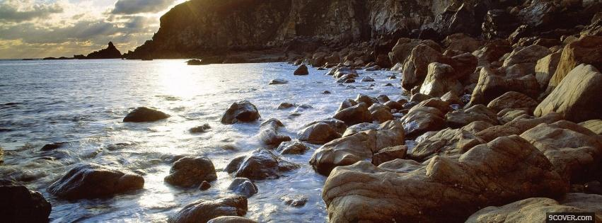 Photo channel islands nature Facebook Cover for Free