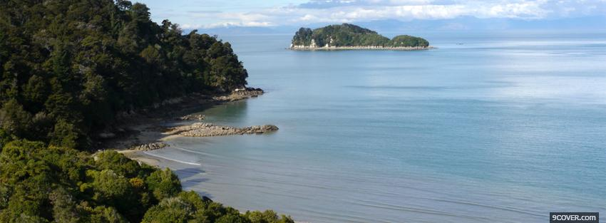 Photo national park tasman nature Facebook Cover for Free