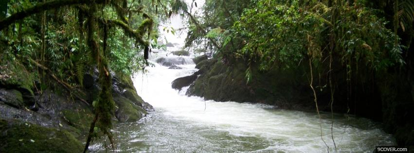 Photo costa rica nature Facebook Cover for Free