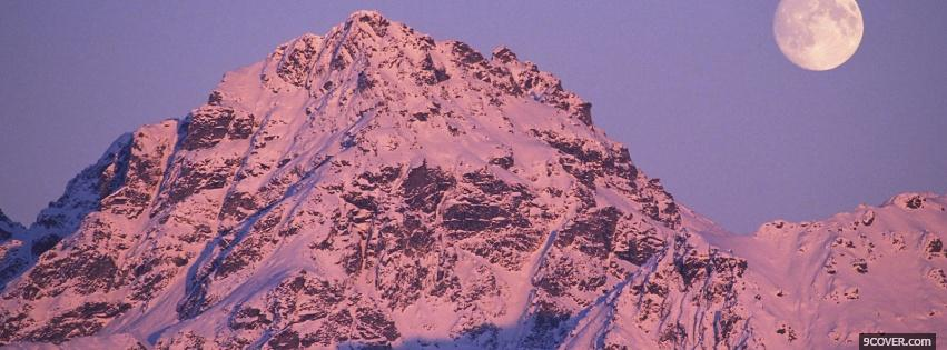 Photo hatcher pass alaska nature Facebook Cover for Free