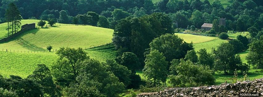 Photo lake district england nature Facebook Cover for Free