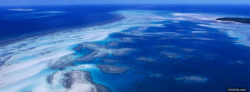 Photo torres strait islands nature Facebook Cover for Free