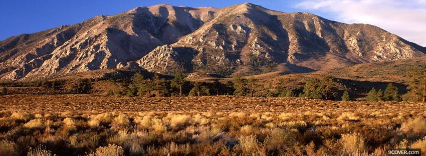 Photo sierra california nature Facebook Cover for Free
