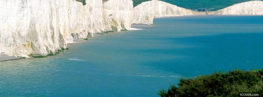 Photo seven sisters scenery nature Facebook Cover for Free