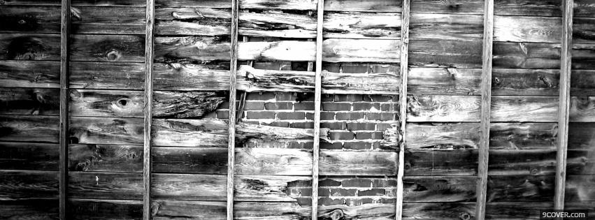 Photo old wall Facebook Cover for Free
