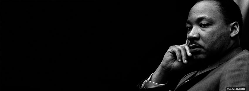 Photo martin luther king Facebook Cover for Free